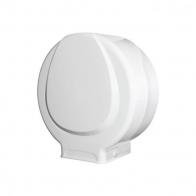 Porta Papel Higiênico Rolão 300/600m Branco Plestin