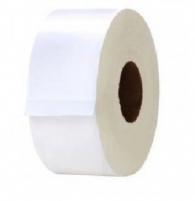 Papel higiênico Rolão Branco 8X300m Leaf