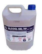 Álcool gel 70% 5L Super Vale