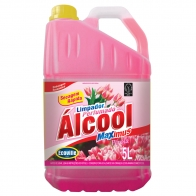 Limpador com Álcool Perfumado Pérola 5L Ecoville