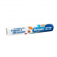 Plástico para Freezer 3kg 23X36cm Rolo com 100 Unidades Bompack