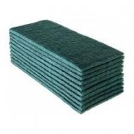 Fibra de Limpeza Média Verde Pacote com 10 unidades