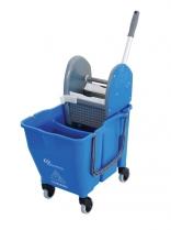 Carro de Limpeza Doblo NY 109 Azul Bralimpia