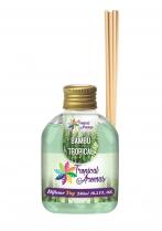 Aromatizante Difusor Bambu 250ml Tropical Aromas