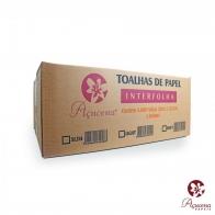 Papel Toalha Interfolha Light 22.5X20cm 100% Celulose 5000 folhas Açucena