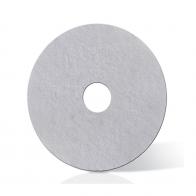 Disco Lustrador para Encerar Branco 300mm