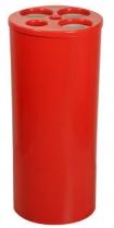 Lixeira P/ 500 copos de água/cafe vermelha e azul