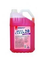 Mult clean 20 detergente hospitalar 5 L