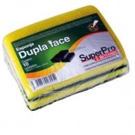 Esponja Dupla Face Pacote com 4 unidades