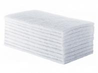 Fibra de Limpeza Leve Branca Pacote com 10 unidades