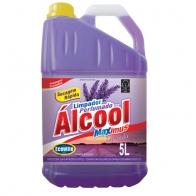 Limpador com Álcool Perfumado Lavanda 5L Ecoville