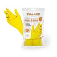Luva de Limpeza Látex Amarela 1 Par P Talge