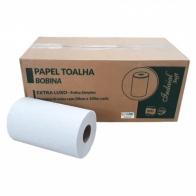 Papel Toalha Bobina Light 100% celulose 6x200m Indaial Papéis