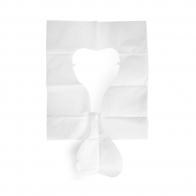 Protetor de Papel Descartável para Vaso Sanitário Caixa com 40 Unidades