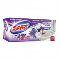 Pastilha Adesiva Lavanda com 3 unidades Sany Mix
