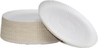 Pratos papelão plastificado N4 C/100